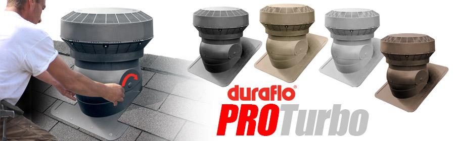 Duraflo PROTurbo Roof Vent Colours