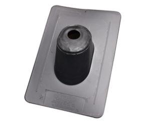"Duraflo 1-1/2"" Thermoplastic Roof Flashing, Black"