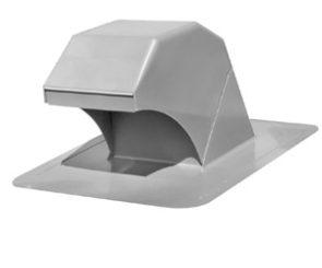 Duraflo Gooseneck Roof Dryer Exhaust Vent, Grey