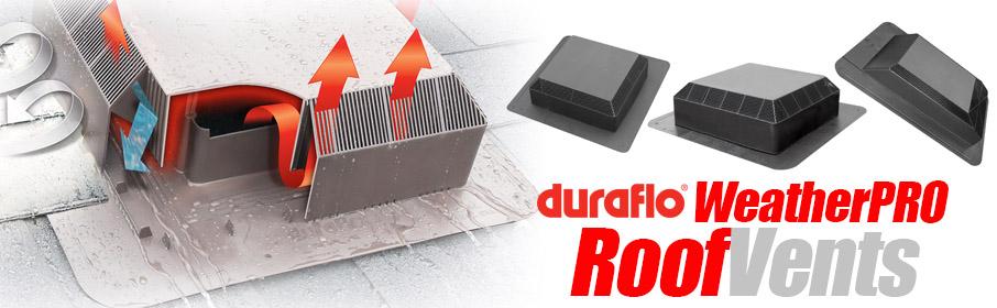 Duraflo 60PRO150BR Weatherpro ProVentilator Brown