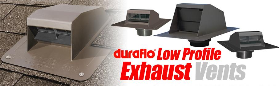 Low Profile Exhaust Vents Archives | Canplas Industries Ltd