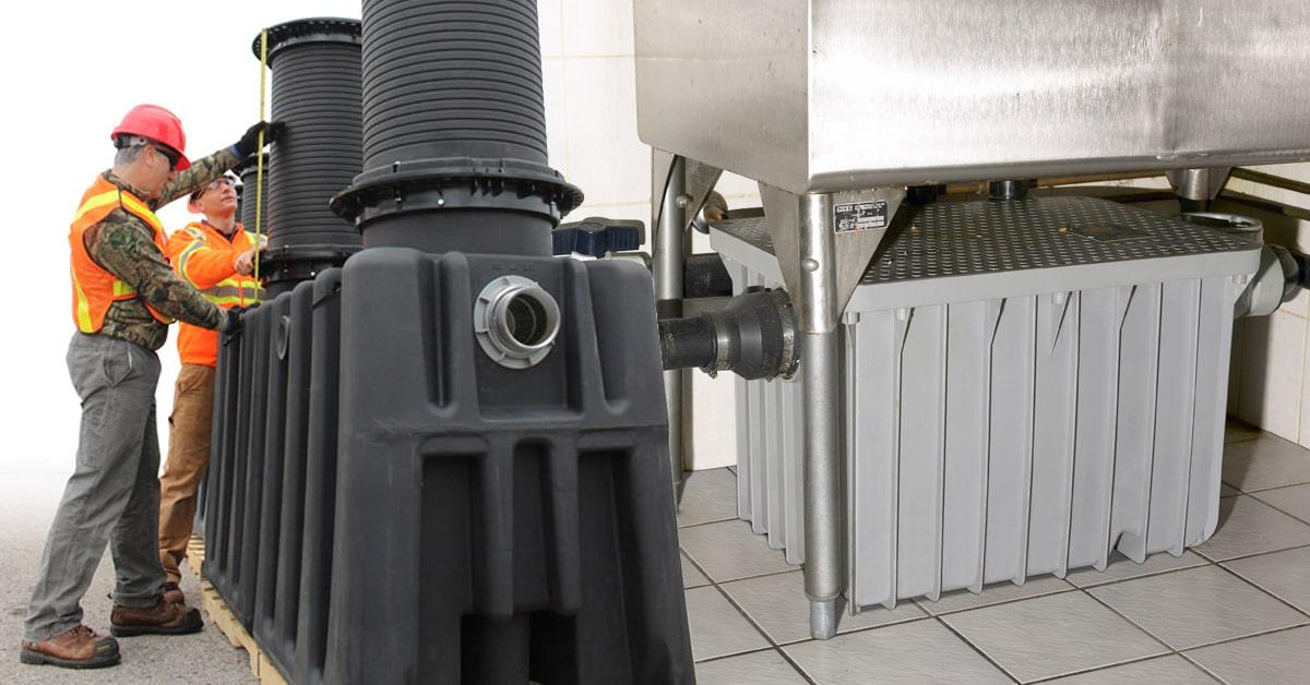 grease interceptor types - Endura XL 75-150 GPM vs Endura 7-50 GPM